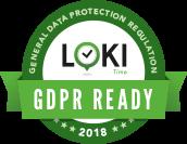 LokiTime noudattaa GDPR:n vaatimia tietoturva-asetuksia.