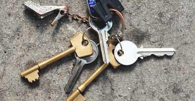 Sano hyvästit kadonneille avaimille!
