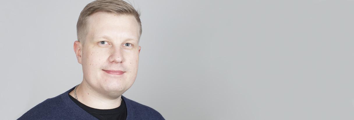 Avainasiakaspäällikkö Lassi Kervinen